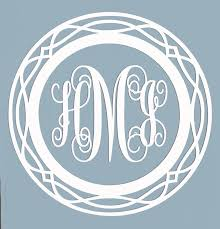 Initials Custom Script Monogram Decal Letters Car Window Sticker Personalized Car Truck Parts Moonnepal Com