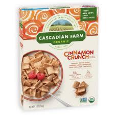 cinnamon crunch cereal cascadian farm