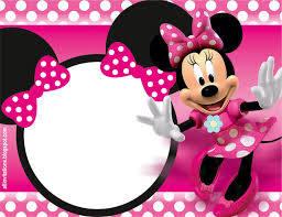 Invitacion De Minnie Mouse Invitaciones Minnie Invitacion De