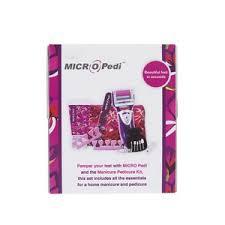emjoi micro pedi gift set with manicure