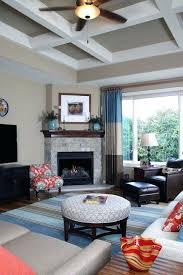 small living room corner fireplace