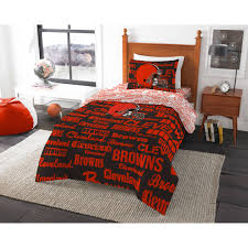 nfl cleveland browns bed in a bag