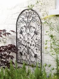 metal spanish arch wall art sculpture