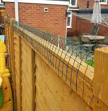 Cat Deterrent Fence Topper 2 Pack Ebay