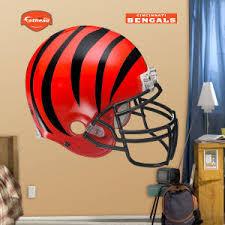 Cincinnati Bengals Fathead Helmet Wall Decal