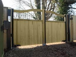 Courtyard Gates Timber Gates Jacksons Security Fencing