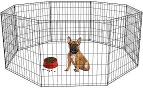 Amazon Com Bestpet 24 Tall Foldable Dog Playpen Crate Fence Pet Kennel Play Pen Exercise Cage 8 Panel Black Pet Supplie In 2020 Dog Playpen Pet Kennels Tallest Dog