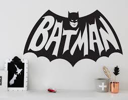 Batman Decal Your Decal Shop Nz Designer Wall Art Decals Wall Stickers Wall Murals