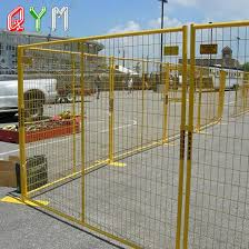 China Galvanized Control Barrier Temporary Fence Construction Temporary Fencing For Sale China Temporary Fencing Galvanized Temporary Fence