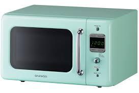 daewoo retro microwave oven 0 7 cu ft