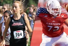 "EWU Athletics on Twitter: ""Congrats to Sarah Reiter & Aaron Neary ..."