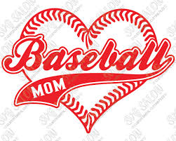Baseball Mom Heart Shaped Laces Custom Diy Iron On Vinyl Shirt Decal Cutting File In Svg Eps Dxf Jpeg And Png Format Svg Salon