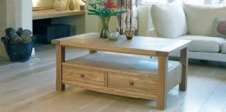 solid oak coffee tables rustic oak