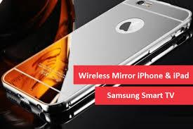 iphone or ipad on samsung smart tv