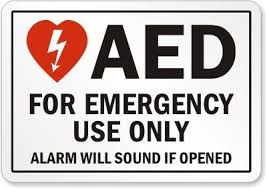 Aed Automated External Defibrillator For Emergency Use Only Decal Sticker Buy Online In Macedonia Stick2safety Products In Macedonia See Prices Reviews And Free Delivery Over 4 000 Den Desertcart