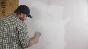 skim coat a wall after wallpaper