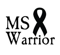Ms Warrior Vinyl Decal Sticker Multiple Sclerosis Free Etsy