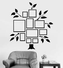 Photo Tree Vinyl Wall Decal Family Tree Frames For Photos Bedrooms Design Wall Stickers Living Room Art Wall Diy Mural New La908 Family Tree Frame Tree Framevinyl Wall Decals Aliexpress