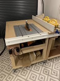 Table Saw Or Track Saw Thinking Of Changing This Saw And Not Great Diy Fence To A Reasonable Track Saw And Mft Table I Haven T Found Any Applicable Downsides Yet Cabinets