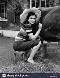 L'actrice Jean Simmons (1947 Photo Stock - Alamy