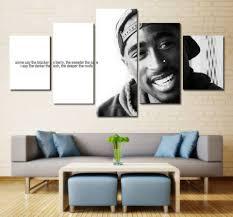 Tupac Quote Wall Art Canvas Painting Framed Home Decor Sports Art Direct