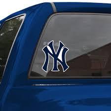 New York Yankees 8 Color Team Logo Car Decal