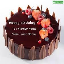birthday cake with name wishme29 um