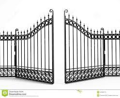Clipart Fences And Gates Gate Clip Art Images Clipart Panda Free Clipart Images Iron Gate Black Iron Wrought Iron Gates