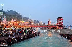 Har Ki Pauri In Haridwar Stock Pictures, Royalty-free Photos ...