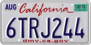 Vehicle Registration Plates Of California Wikipedia