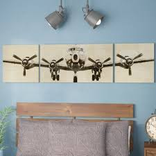 Plane Wall Art You Ll Love In 2020 Wayfair
