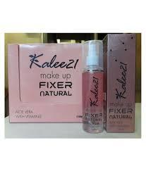 fixer natural face makeup setting spray