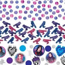 Descendants 3 Confetti 1 2oz Party City