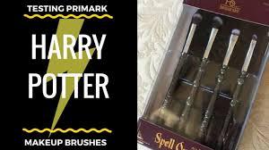 primark harry potter makeup brushes