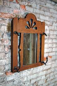 vintage mirror coat rack uncovet