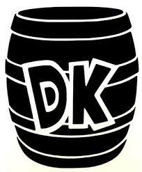 Donkey Kong Barrel Funny Video Game Car Window Vinyl Decal Sticker 12 Colors Ebay