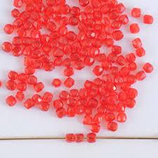 mm ruby 90080 czech glass bead
