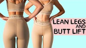 Lilly sabri lean legs& booty lift - YouTube