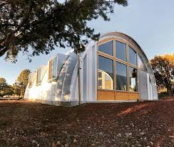 living in a quonset hut great idea for