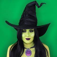 green witch makeup look tattoo junkee