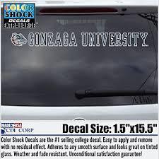 Gonzaga License Plate Frame Zags Decals Car Mats