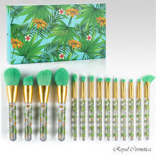 docolor tropical makeup brushes 14pc