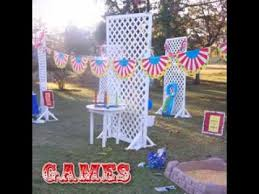diy carnival birthday party games