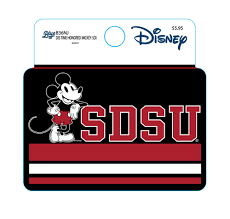 Shopaztecs Sdsu X Disney Sdsu Mickey Decal
