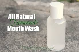 homemade mouth wash recipe the frugal