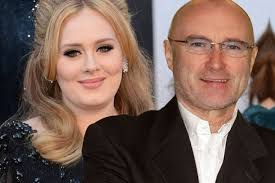Adele 'making beautiful music with Phil Collins'   GenesisFan