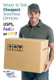 shipping option usps fedex or ups