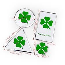 1 Piece X Metal Four Leaf Clover Logo Car Emblem Sticker Badge Decal For Alfa Romeo 147 155 156 159 166 Mito Giulia Giulietta Spider Stelvio Gt Etc Wish