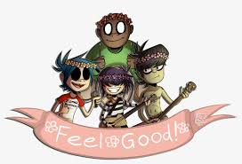 Gorillaz Stickers For Cars 1200x772 Png Download Pngkit