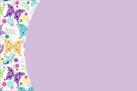 Invitaciones De Mariposas Para Imprimir Gratis Ideas Y Material
